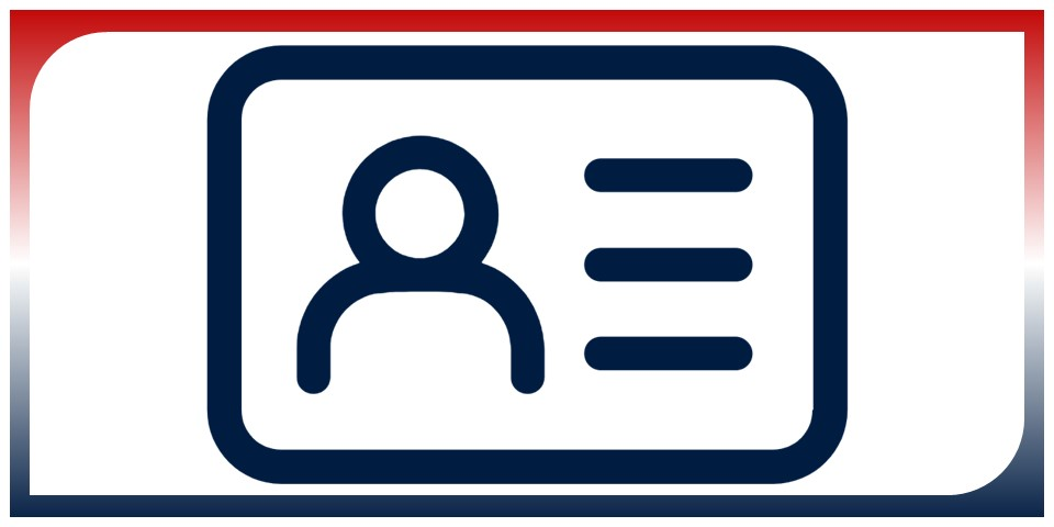 icon of an id card