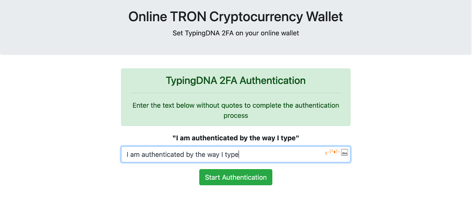 Secure your Crypto Wallet with Biometric 2FA