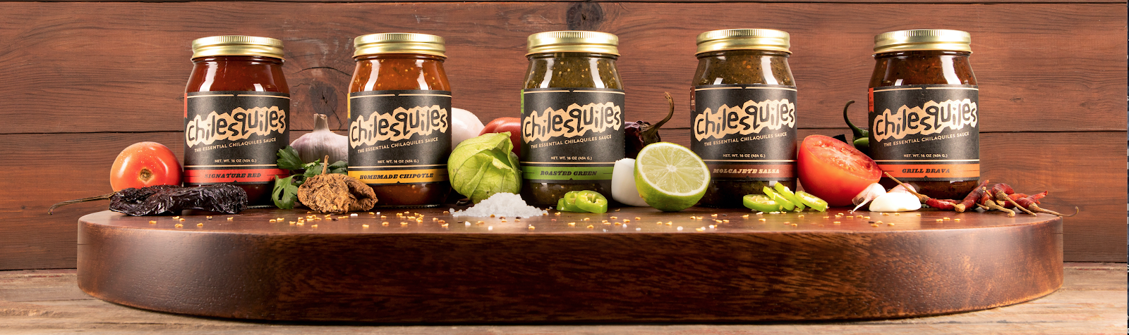 Chilesquiles sauce flavors