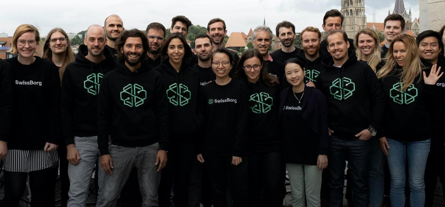 Photo d'équipe de Swissborg