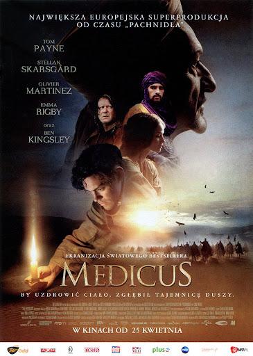 Przód ulotki filmu 'Medicus'