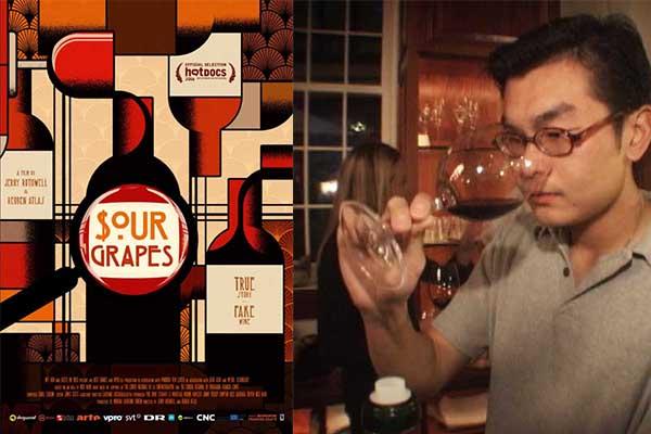 """La série """"Sour Grapes"""" sur Netflix, compte l'histoire de la plus grande escroquerie viticole !"""