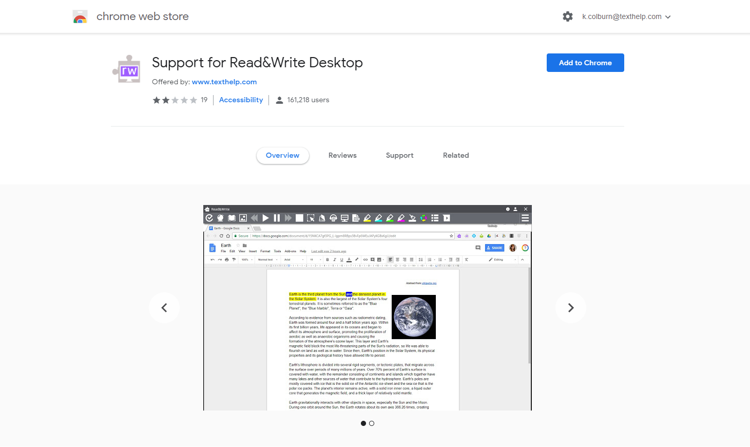 Using Read&Write for Windows with Google Chrome | Support