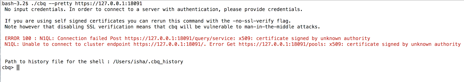 X509 Certificate Signed By Unknown Authority Aws