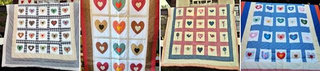 A colcha patchwork bordada coração é mais um produto da Cia das Mãos Patchwork, especializada em customização e personalização de colchas patchwork bordadas ou geométricas. Conheça as diversas possibilidades que o patchwork nos oferece :-)
