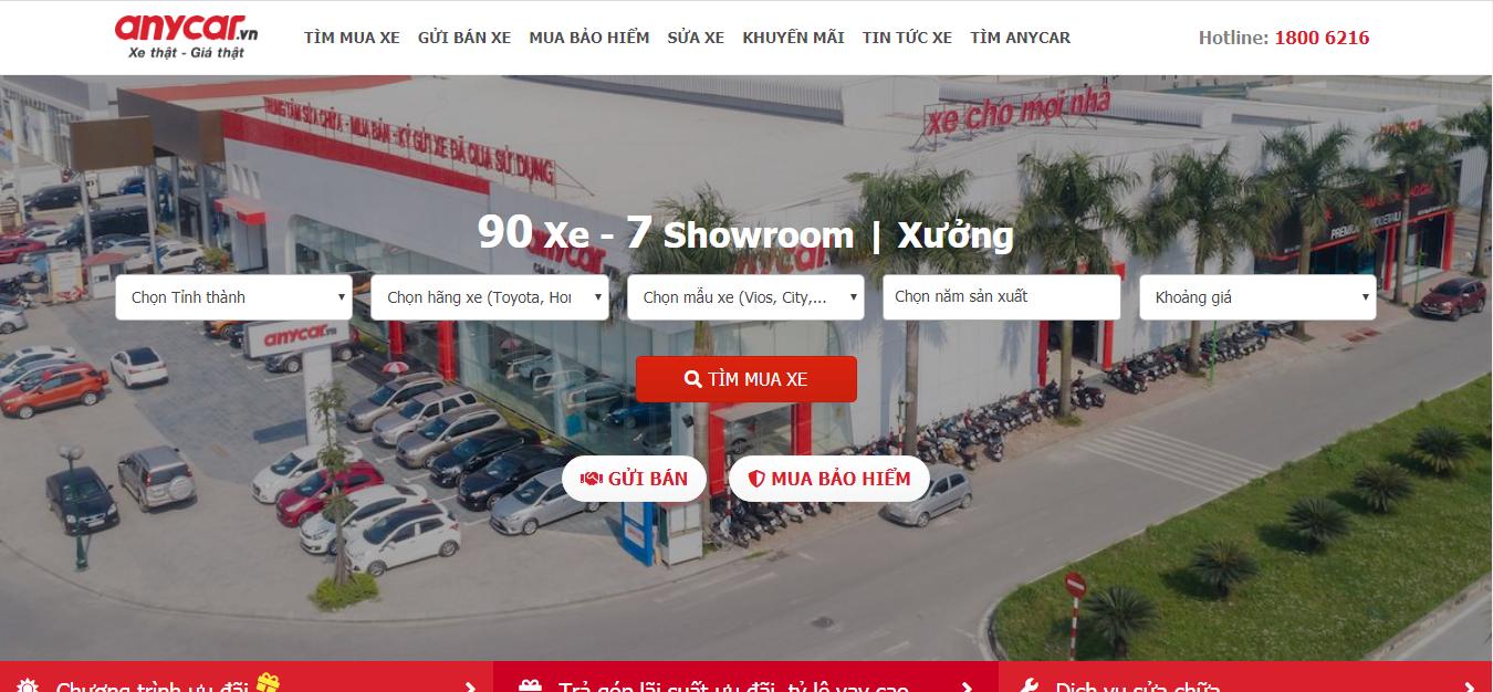 hình ảnh 12 Top 15 Trang Web Mua Bán Xe Ô Tô Uy Tín Nhất Việt Nam
