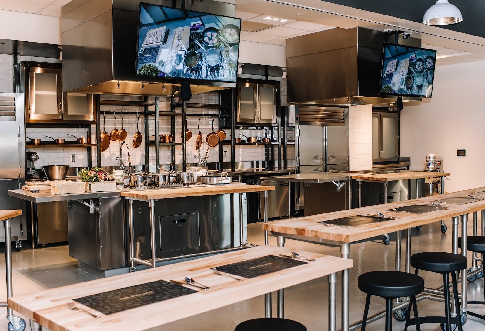 Demo Kitchen at the Meritage Resort