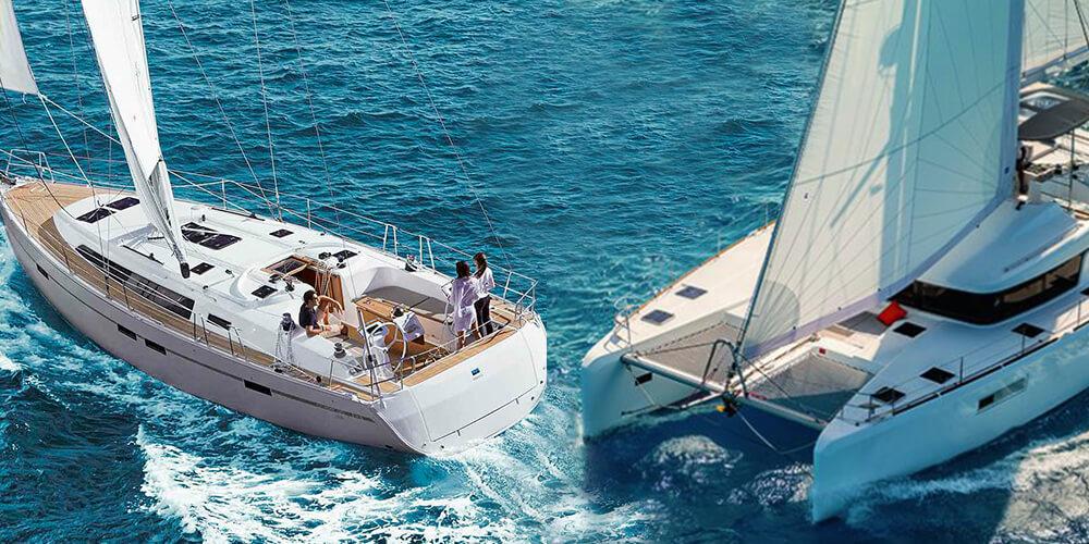 Что же лучше — яхта или катамаран?