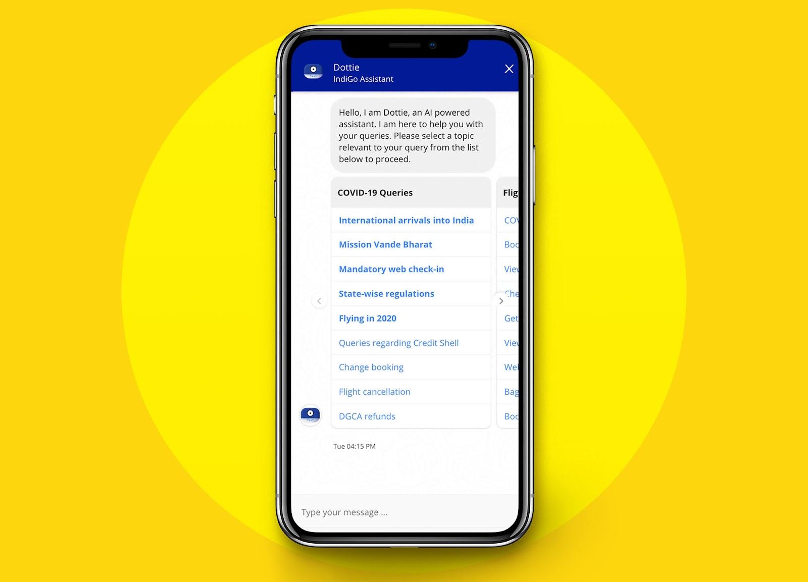 travel assistance chatbot