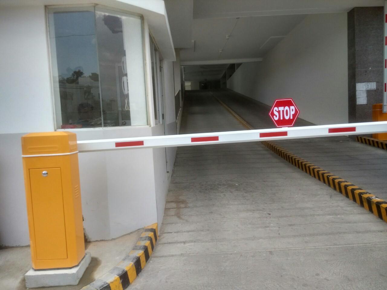 Sử dụng Barie tự động cho các bãi giữ xe