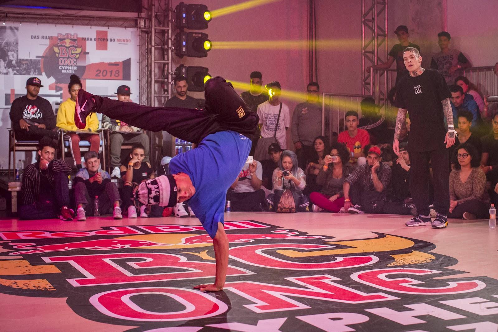 Quem estará à frente das principais atrações do Red Bull BC One Camp Brazil são as maiores estrelas do breaking mundial. Foto: Foto: Red Bull BC One.