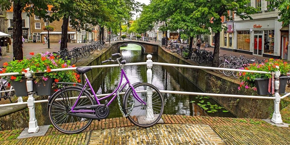 Bicicletas na Holanda (Fonte: Pixabay/Reprodução)