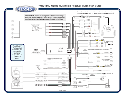 Jensen 9312 Wiring Diagram - Wiring Diagrams on