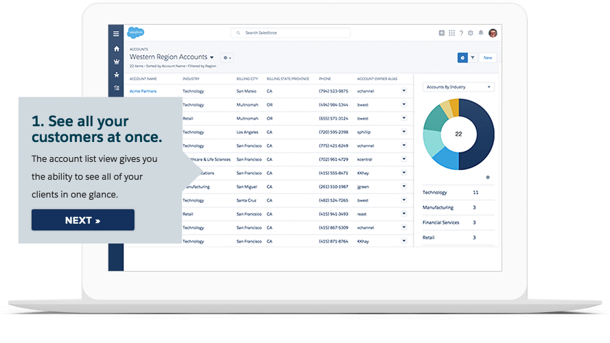 Salesforce for Small Business Advantage of Ease of Use: Salesforce for Small Business