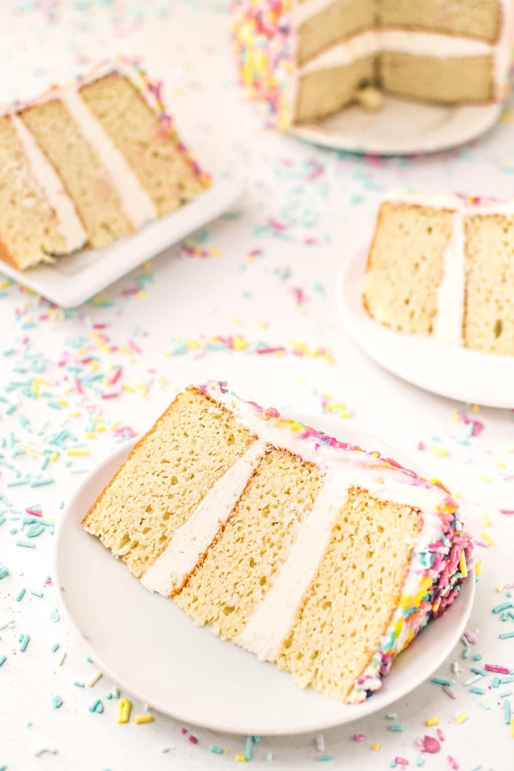 sugar free cake recipe - birthday cake