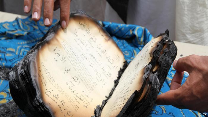 طالبان در غزنی چند نسخه قرآن را سوزانده اند» | افغانستان | DW | 22.06.2012