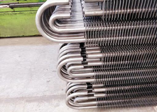 Tabung Sirip Stainless Square Economizer untuk Boiler Pembangkit Listrik