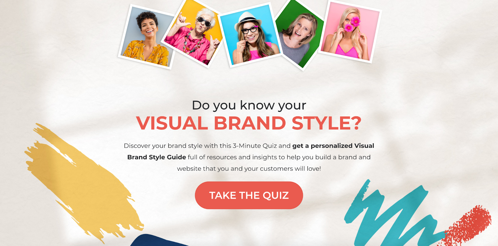 Do you know your visual brand style quiz cover
