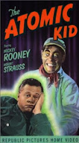 The Atomic Kid(1954) Cover