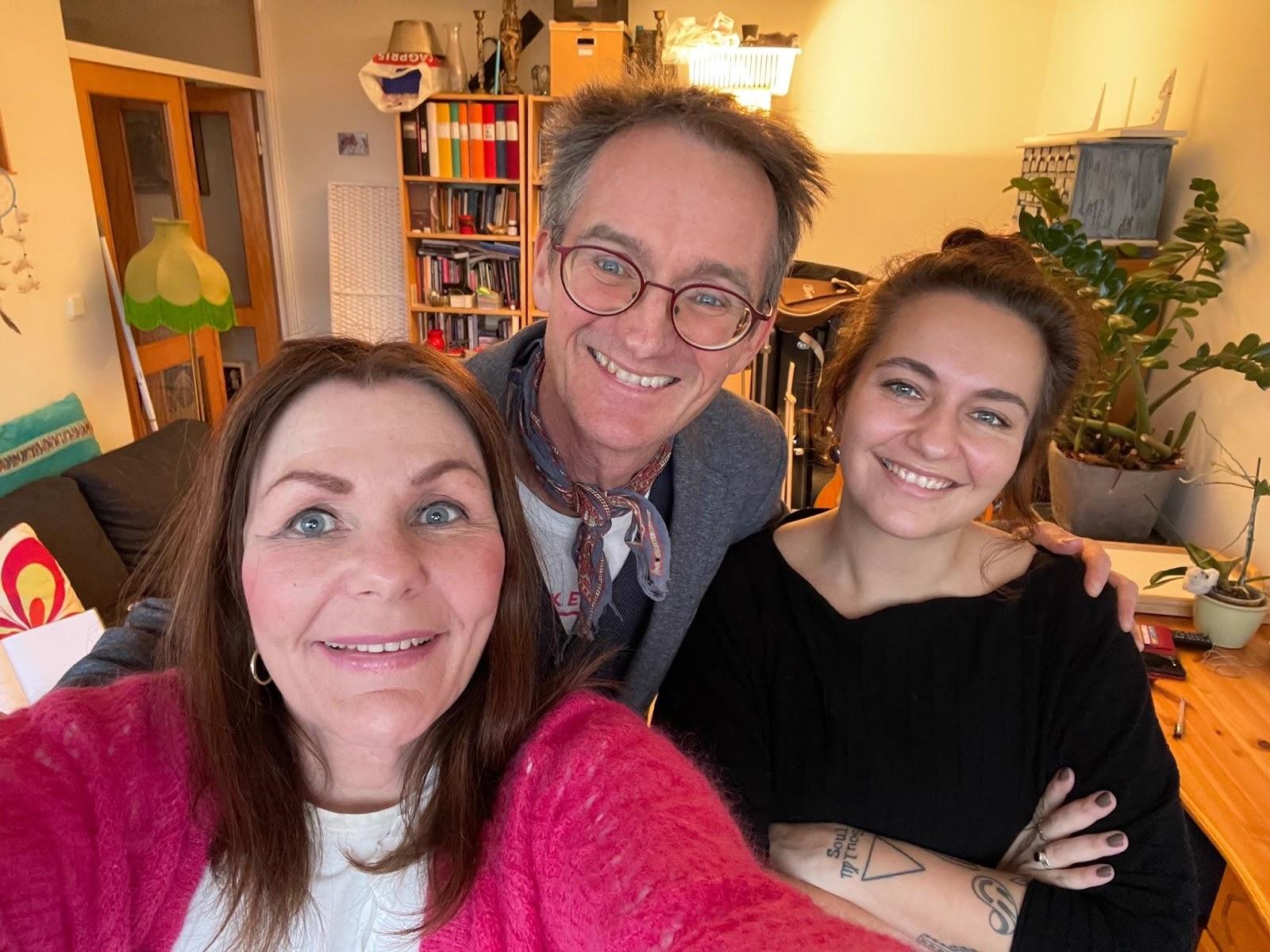 Margareta Hedin, Anders Asker och Alexandra Alvis