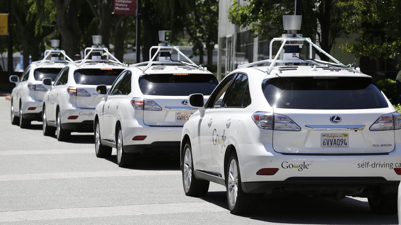 Google's self-driving cars