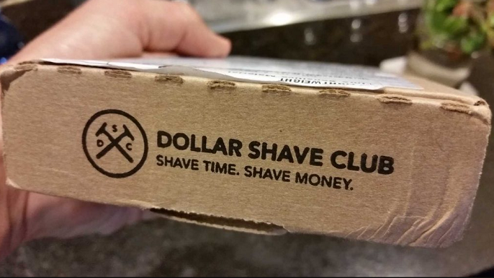 dollar shave club slogan.