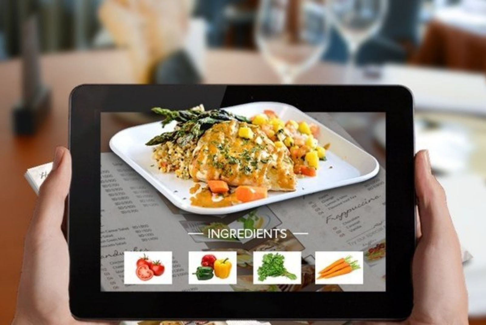 Augmented Reality based food app ideas