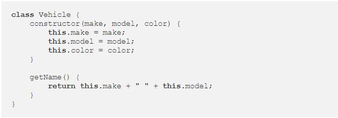 فئات JavaScript classes article-  1
