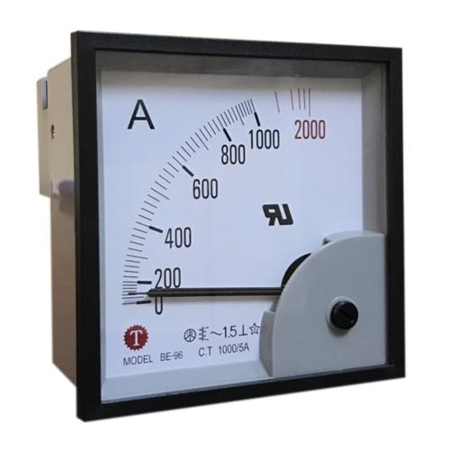 Đồng hồ đo dòng điện (Ampe kế) BE-96 1000/5A Taiwan Meter