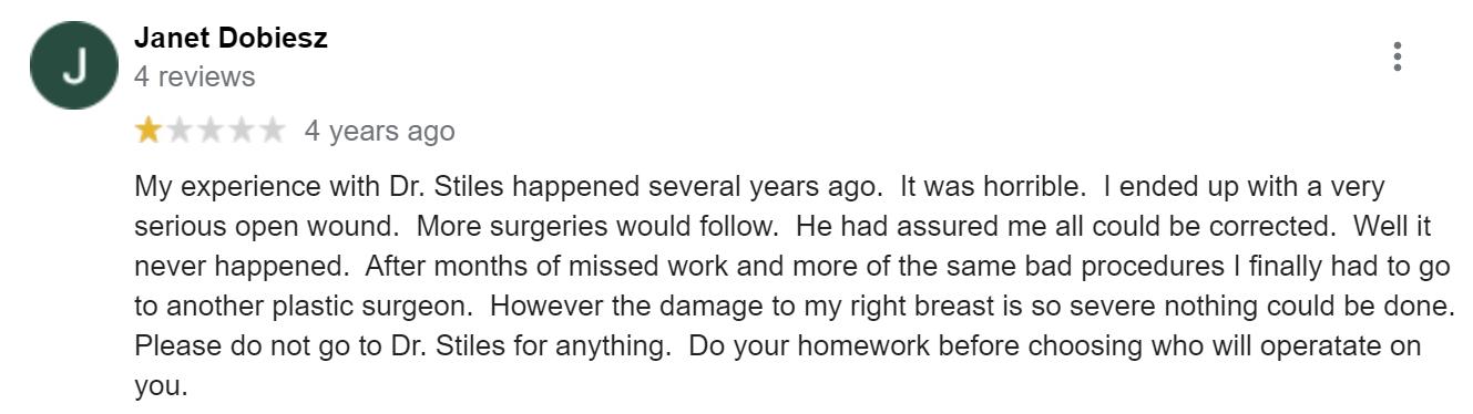 Dr. Stile review