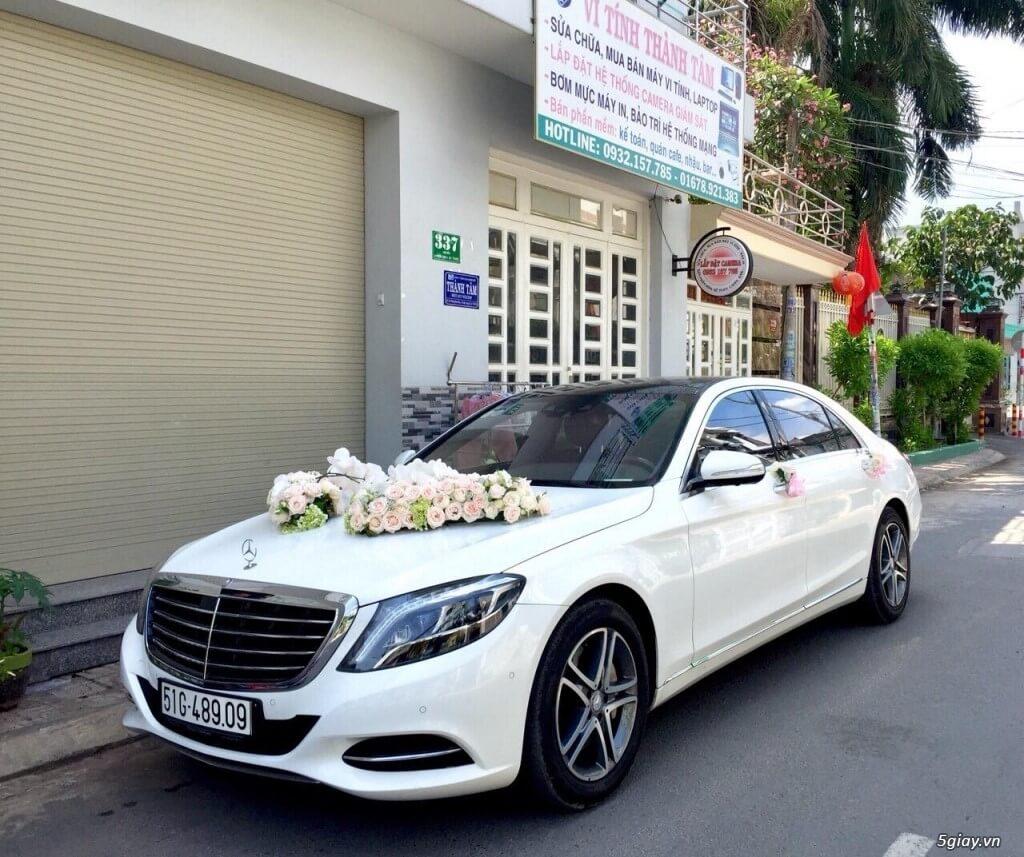 Những loại xe cưới rước dâu được ưa chuộng nhất hiện nay