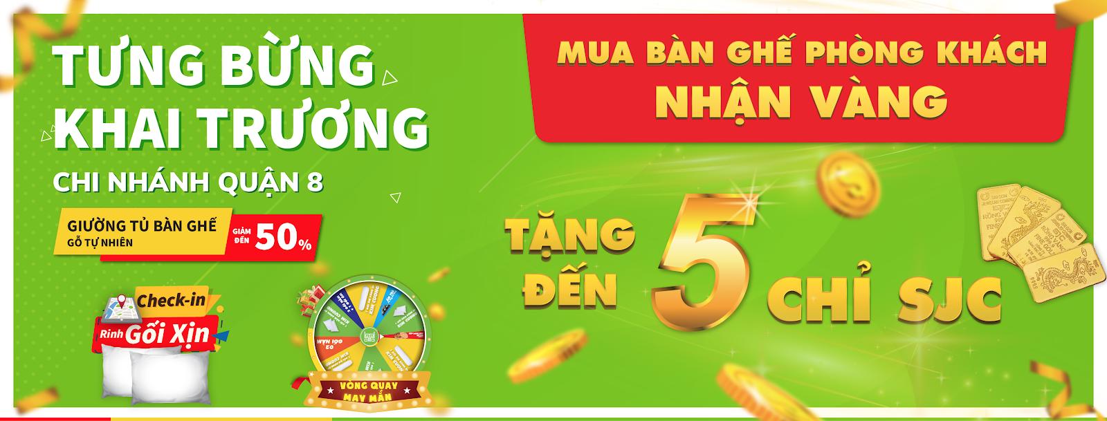 Tưng bừng khai trương Chi nhánh thứ 4 tại Quận 8 Hồ Chí Minh - Dogogiakho.com
