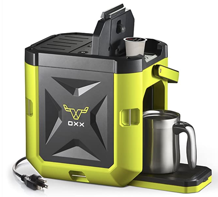 OXX COFFEEBOXX Single Serve Coffee Maker | Thunder Funding