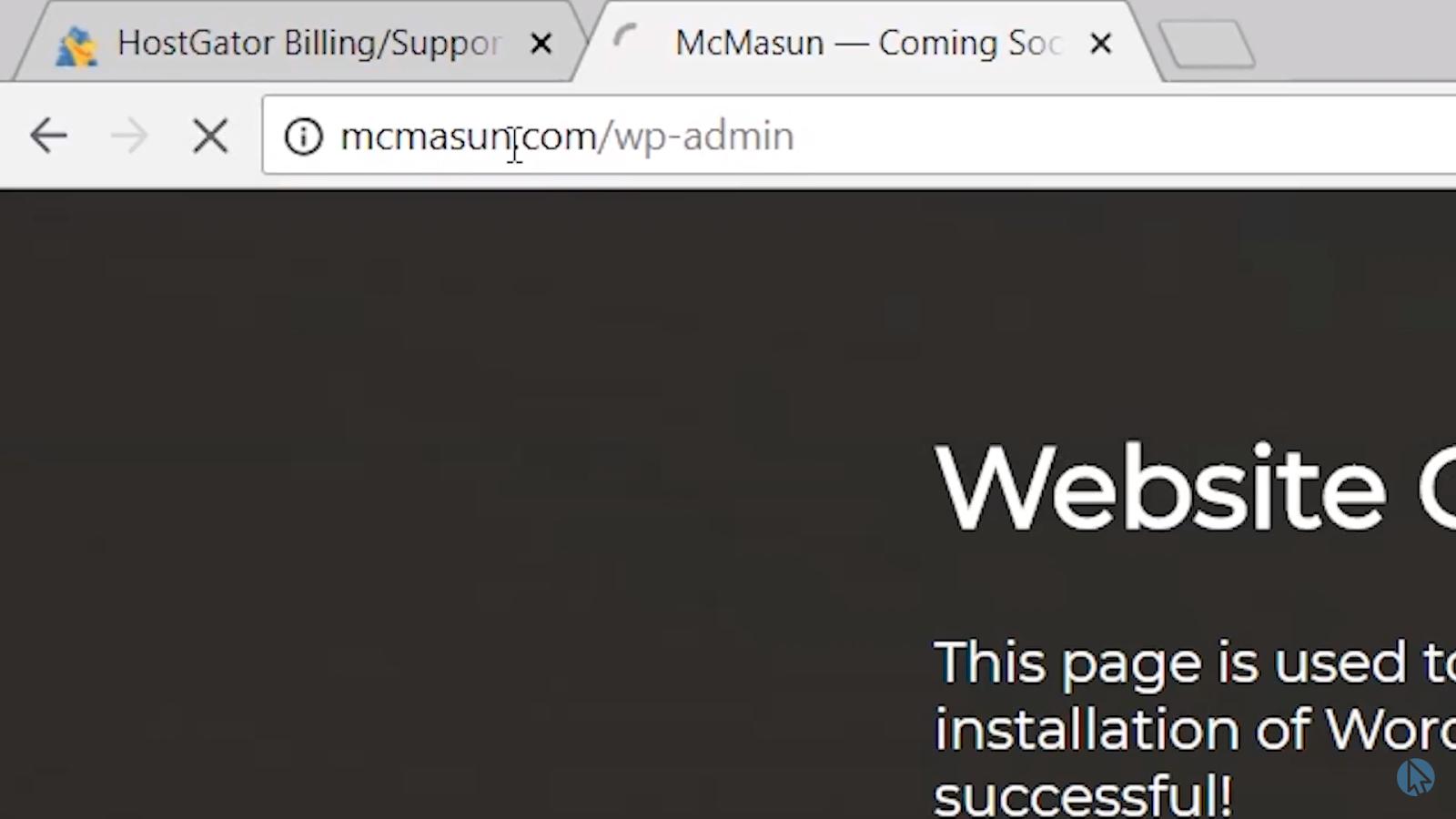 Mcmasun wpadmin