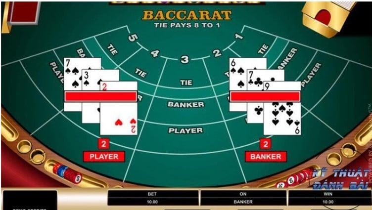 Không phải lúc nào cũng đặt vào cửa Hòa ở game bài Baccarat