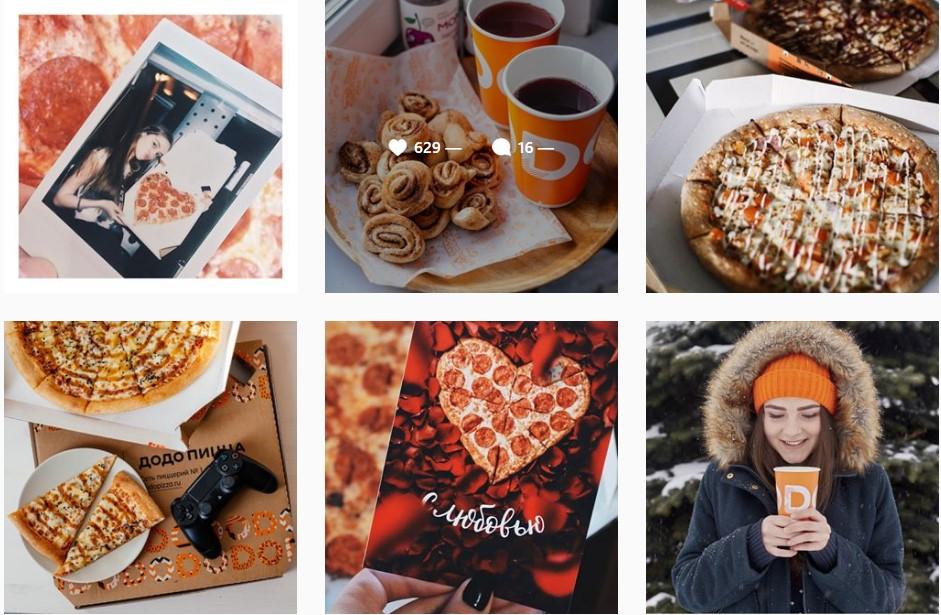 Продвижение бизнеса в Instagram. 8 главных ошибок. Пицца