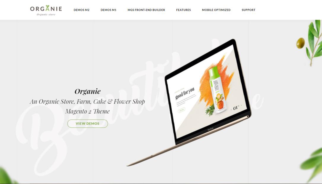 Organie-organic Magento themes
