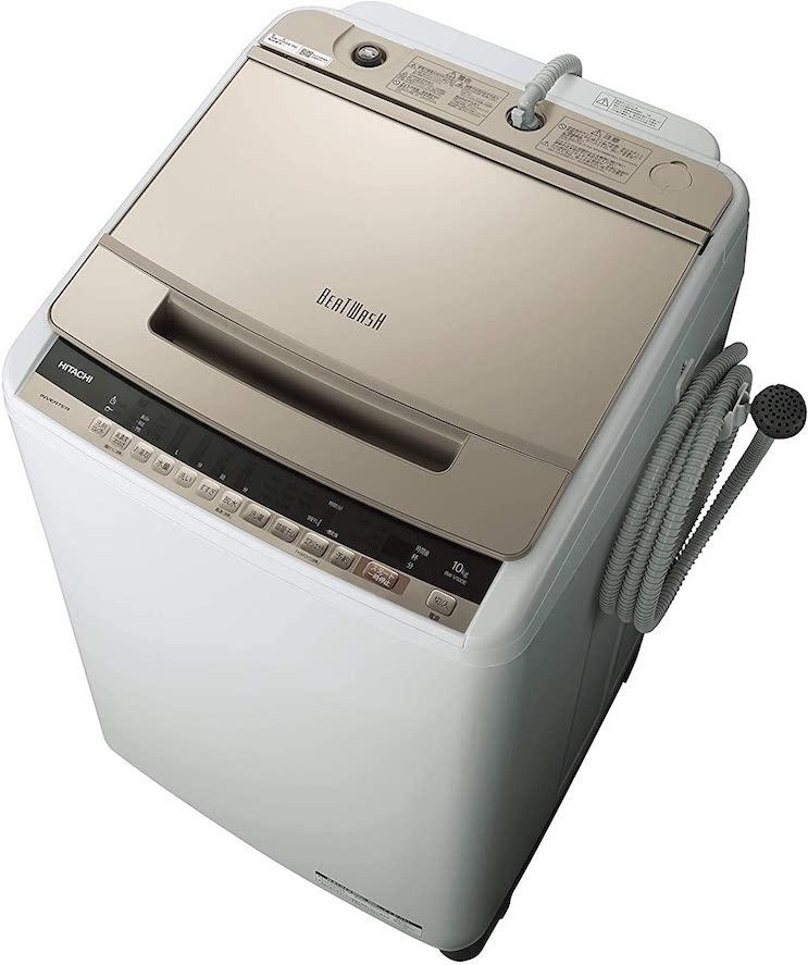 日立(HITACHI)全自動洗濯機BW-V100E
