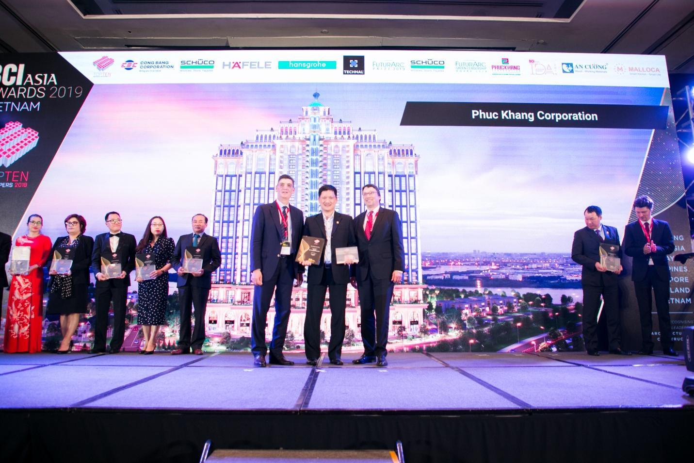 Phúc Khang Corporation được vinh danh tốp 10 Nhà phát triển dự án BĐS hàng đầu Việt Nam - Ảnh 2