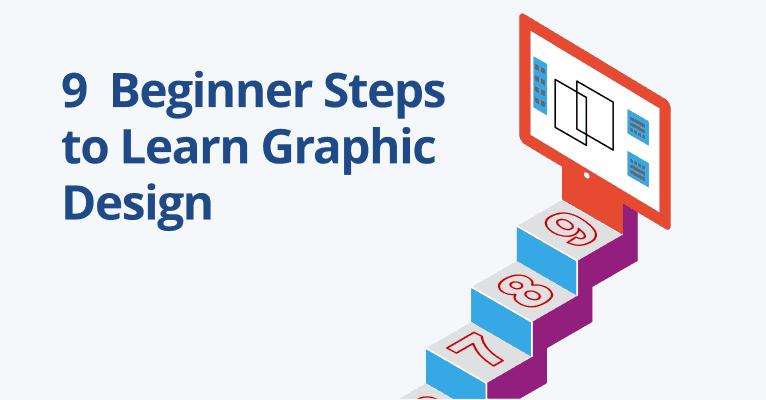 How do you become a beginner graphic designer?