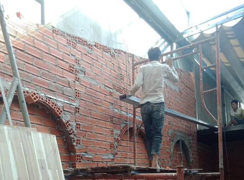 Trường tuyển có nhiều năm kinh nghiệm trong xây nhà phần thô