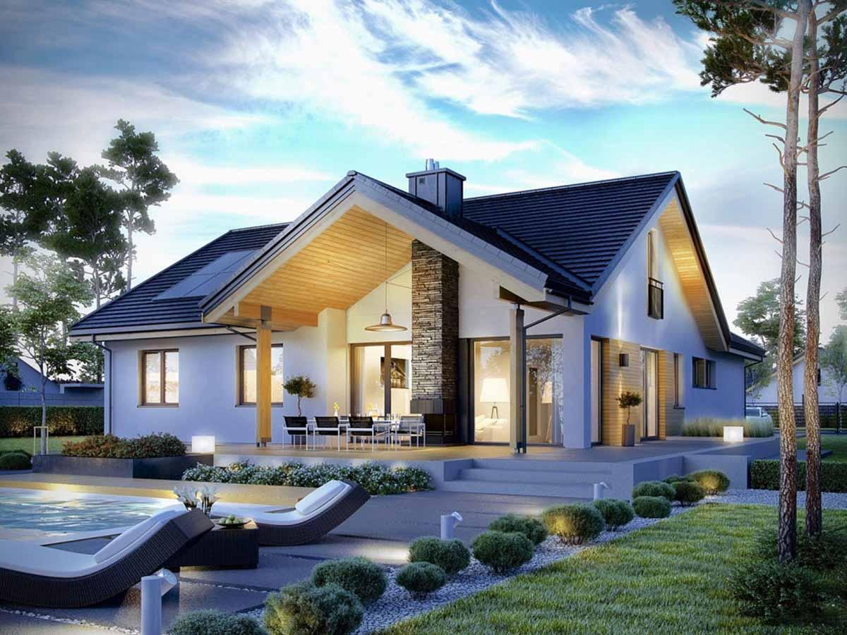 Mách bạn cách xây nhà mái Thái hợp với mệnh Thổ