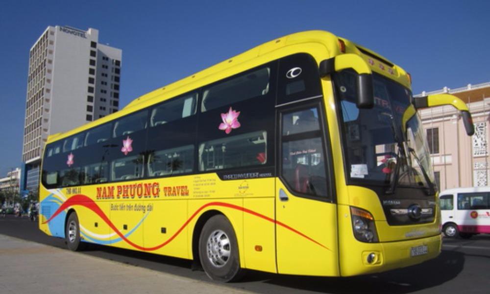 Xe Nam Phương đi Nha Trang