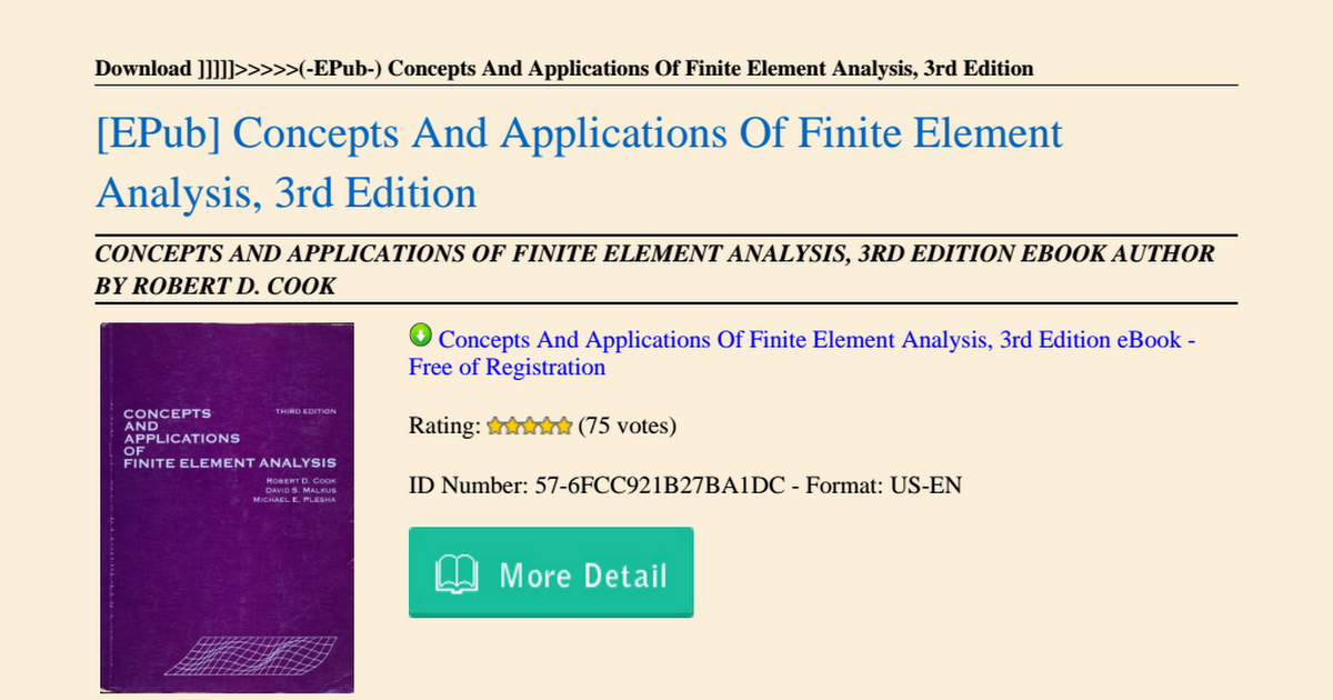 Concepts-And-Applications-Of-Finite-Element-Analysis-3rd