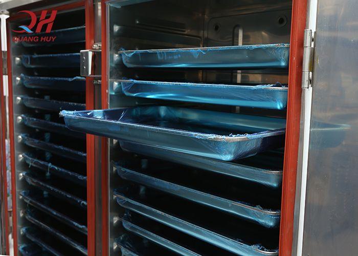 Hệ thống khay cơm trong tủ nấu cơm công nghiệp 12 khay điện