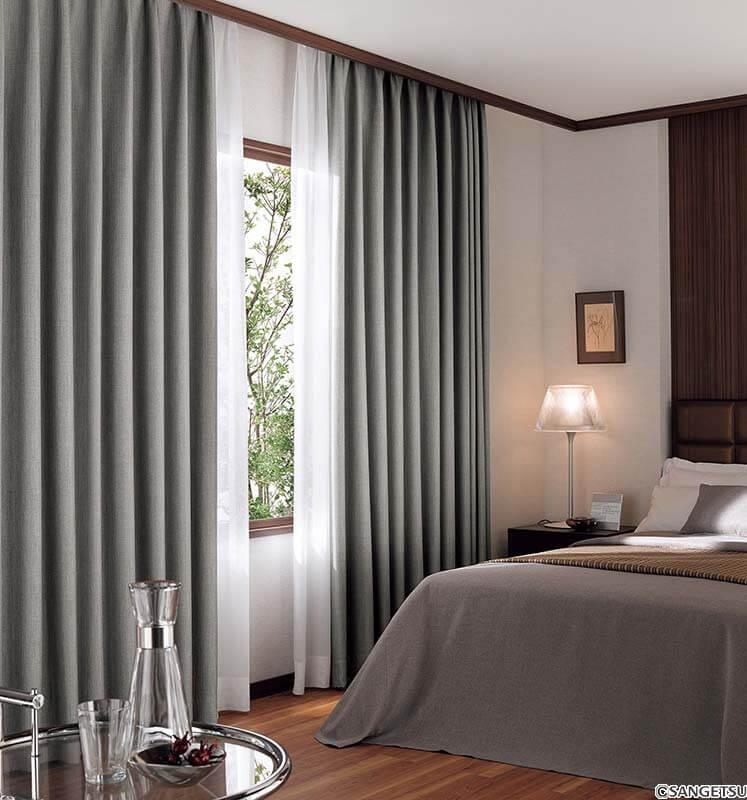 Rèm vải – sự lựa chọn hàng đầu trong không gian phòng ngủ của bạn