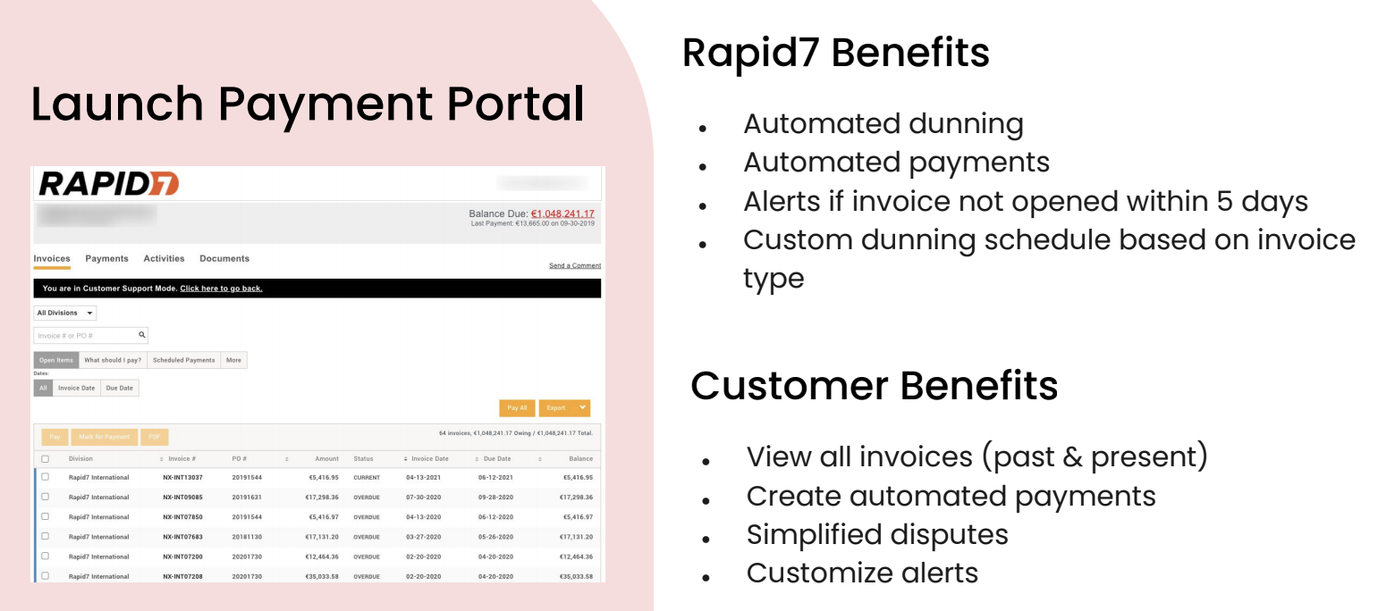 The benefits of an automated payment portal
