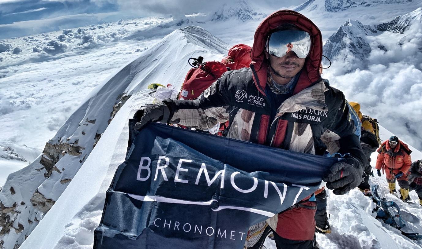 Nirmal Purja sets new world record and climbs all 14