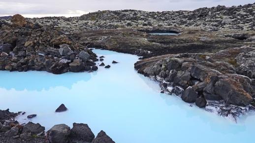 The Blue Lagoon, Iceland, Blue, Landscape, Volcanic