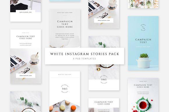 Swiss Cube Instagram Stories Pack